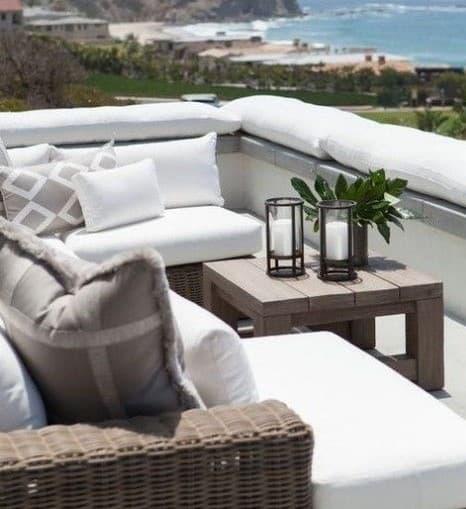 cuscini per terrazza